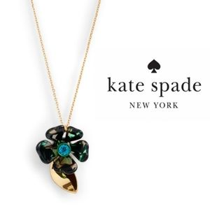 Kate Spade ♠️ Petal Pushers Mini Bloom Necklace